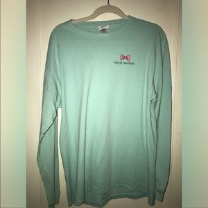 Simply Southern T shirt, pineapple theme